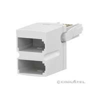 Commtel Telephone Double Adaptor